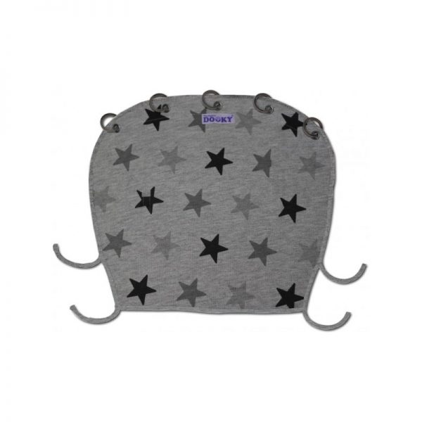Dooky Design - Grey Stars