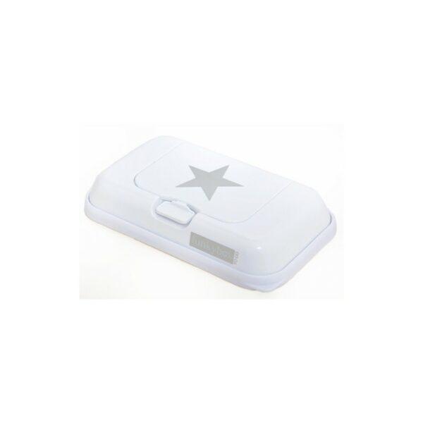 FunkyBox- Porta toalhitas pequena branco estrela