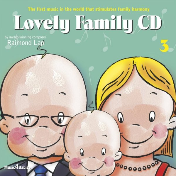 Raimond Lap - CD Lovely Family Nº 3