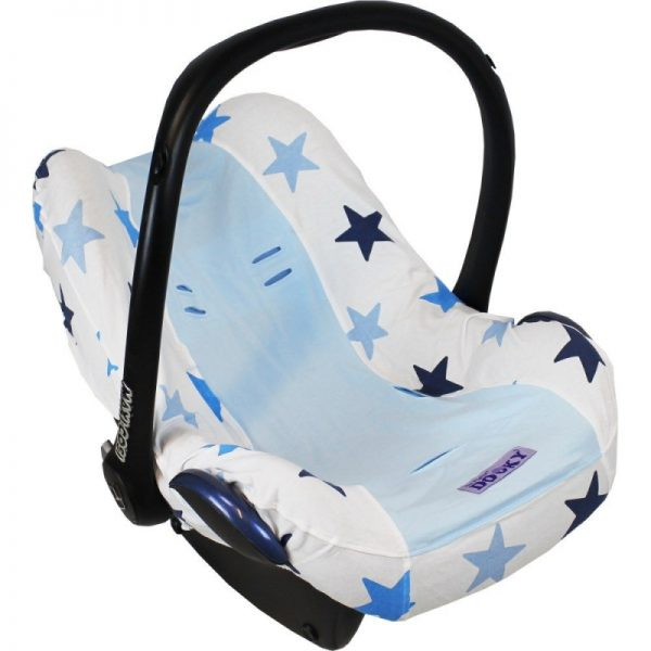 Dooky Seat Cover 0+ Silver Stars