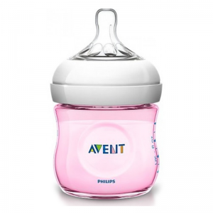 Philips AVENT - Biberão 125ml - Natural - 0m+