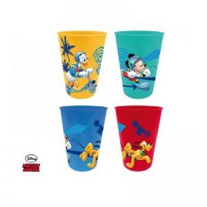 Mickey - Copo de Plástico 4x (200ml)