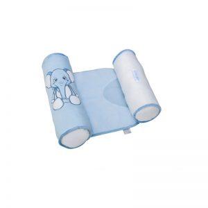 Saro - Almofada Anti Giro Sweet Woolly - Elefante Azul
