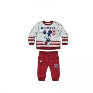 Disney Baby - Fato de Treino Mickey Vermelho (36 Meses)