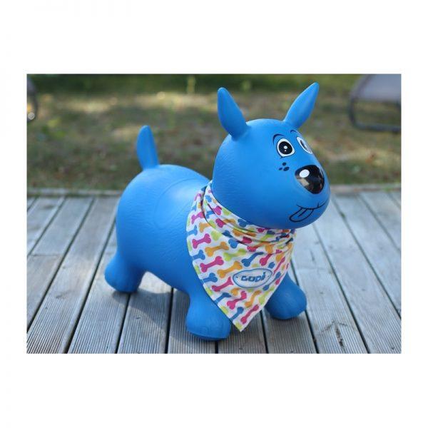 Ludi - Cão Saltitão Azul