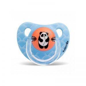Suavinex - Chupeta Silicone Anatómica Panda 6-18m