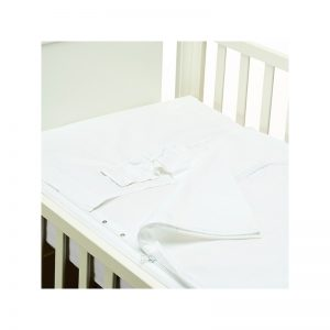 B - Mum - Conjunto de Lençois Safety Baby Bed 120 x 60 cm - Branco/Pureza