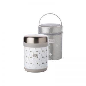 Saro - Termo Sólidos 900 ml Cinza