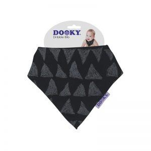 Dooky - Dribble Bib Babete - Black Tribal