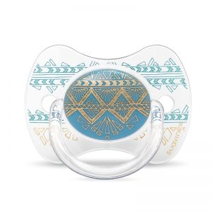 Suavinex - Chupeta Premium Silicone Fisiológica 4-18m - Azul Claro