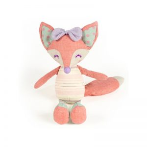 Walking Mum - Boneca de Pano Foxy Rosa