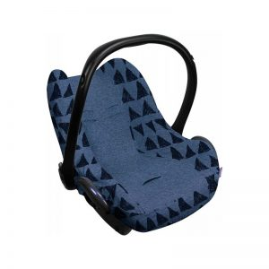 Dooky Seat Cover 0+ Blue Tribal