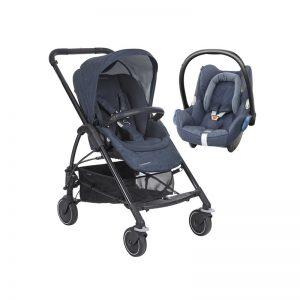 Bebé Confort - Carrinho Mya + Maxicosi Nomad Blue