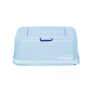 FunkyBox - Porta Toalhitas Azul Pastel