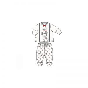 Disney Baby - Conjunto Blusa + Calças Mickey