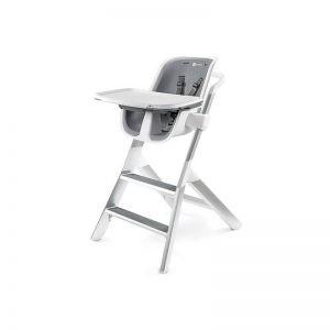 4 Moms - Cadeira de Refeição - Cinza/Branco