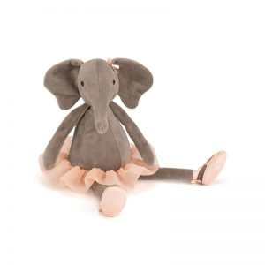 Jellycat - Peluche Dancing Darcey Elefante