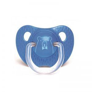 Suavinex - Chupeta Silicone Anatómica Urso Azul 6-18m