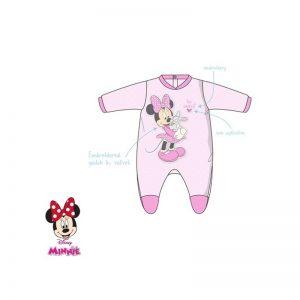 Disney Baby - Babygrow Aveludado Rosa Minnie