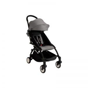 Babyzen YOYO+ Chassis Preto + Color Pack Cinza