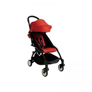 Babyzen YOYO+ Chassis Preto + Color Pack Vermelho
