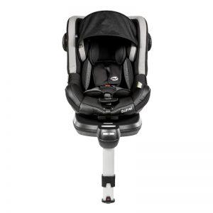 MS - Cadeira Auto Swivel 360º Grupo 0+/1 - Preto/Cinza