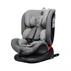 Apramo All Stage- Cadeira Auto Grupo 0/1/2/3 Black Series - Slate Grey