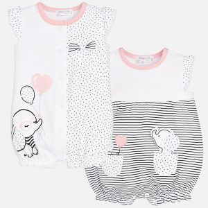 Mayoral - Conjunto Pijamas Elefante Rosa