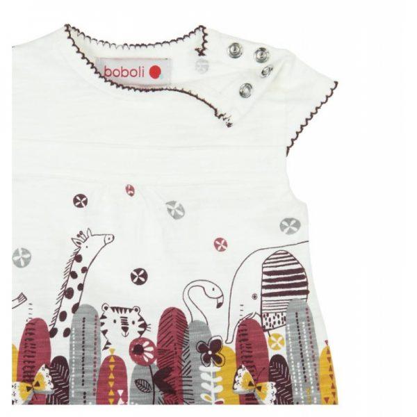 Bóboli - Vestido para bebé menina - African Soul
