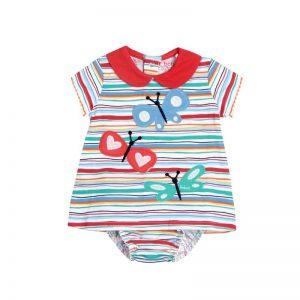 Bóboli - Vestido para bebé menina - Playing On