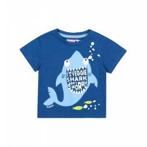 Bóboli - T-Shirt para bebé menino Tubarão - Blue Coast