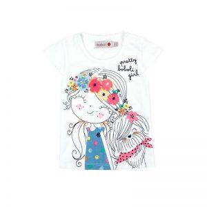 Bóboli - T-Shirt para bebé menina - Over The Rainbow