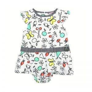 Bóboli - Vestido estampado para menina - Foolish Things
