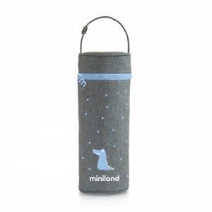 Miniland - Thermibag Sliky 350ml - Azul