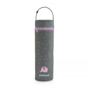 Miniland - Thermibag Sliky 500ml - Rosa