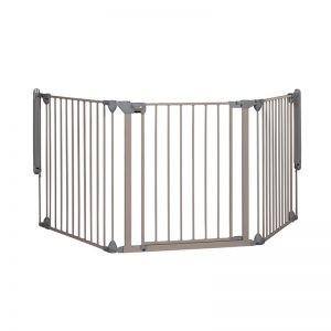 Safety 1st - Barreira de Segurança Modular3 Light Grey