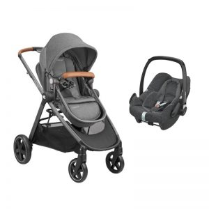 Bebé Confort - Zelia Sparkling Grey + Pebble Plus Graphite