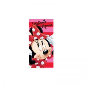 Disney - Toalha de Praia Minnie Rosa/Vermelho