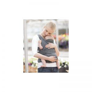 Chicco - Porta Bebé Boppy Comfy Fit Cinza