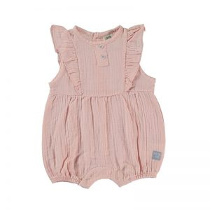 Cotton Fish - Bodie manga volante Outfit - Rosa