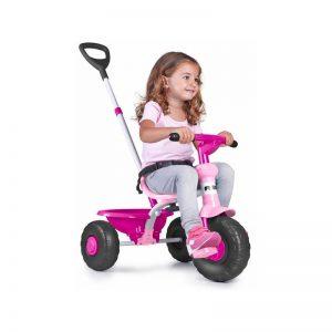 Feber - Triciclo Baby Trike 2 em 1 - Rosa