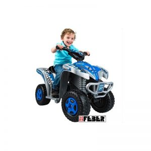 Feber - Quad King Cross Blue 6V
