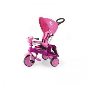 Q Play - Triciclo Evolutivo Ranger Rosa