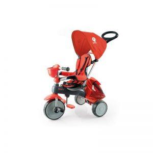 Q Play - Triciclo Evolutivo Ranger Vermelho