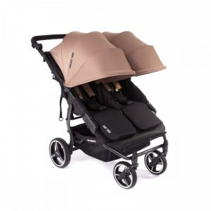 Baby Monsters - Carrinho Easy Twin 3S Taupe