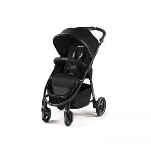 Recaro - Carrinho de passeio Citylife Black Chassis Preto - 6M+