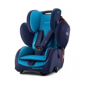 Recaro Cadeira Auto Young Sport Hero 1-2-3 Xenon Blue