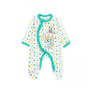 Bóboli - Babygrow Veludo Bolas Bebé