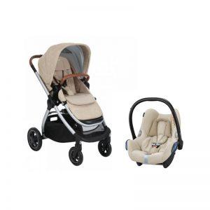 Bebé Confort - Adorra + Cabriofix Nomad Sand